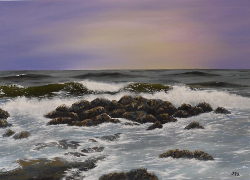 Winter Sea 1 (Sold)