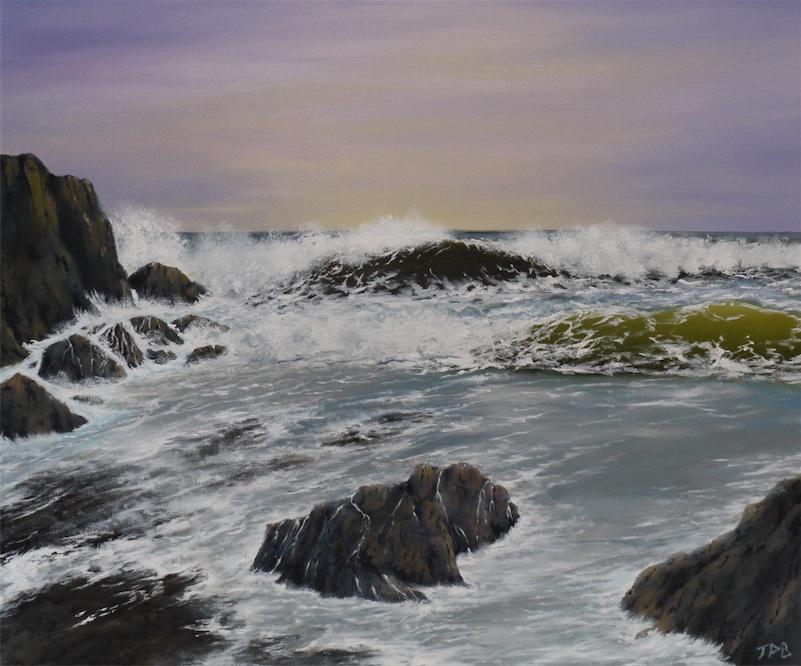 Winter sea 2 (Sold)