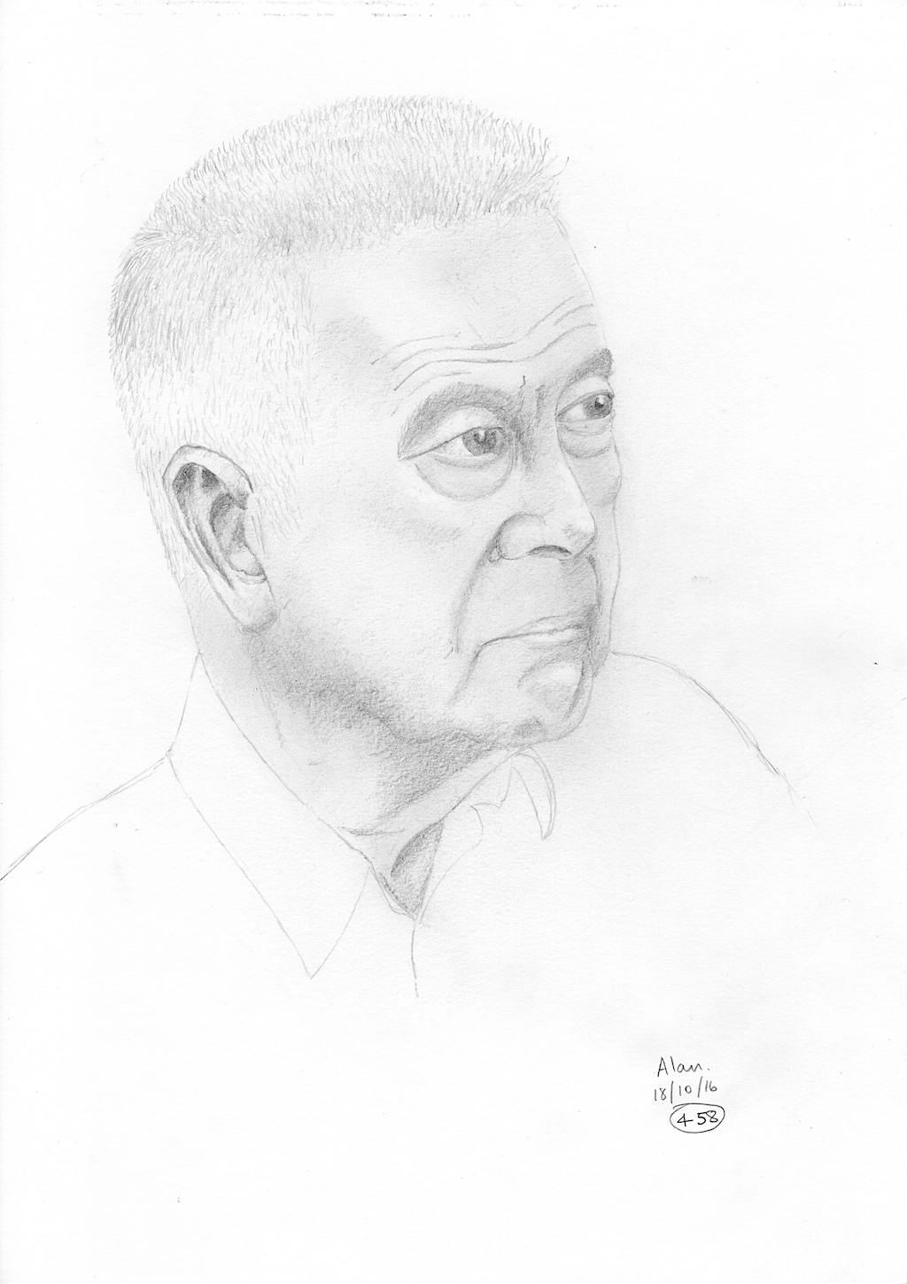 Sketch of Alan