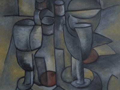 Cubist Still Life I 1