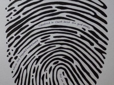 1815 Fingerprint - Ephesians 2 v 10